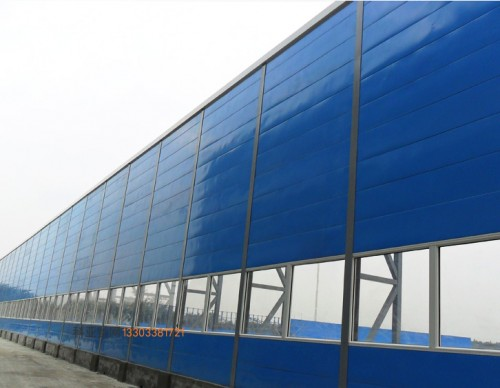 安阳鱼鳞吸音屏障-- 科亚安阳声屏障生产厂家