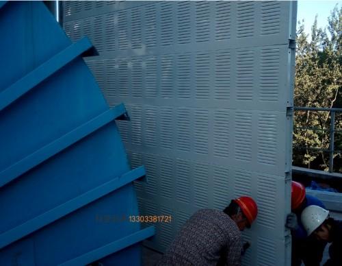 菏泽机械制造隔音板-- 科亚荷泽声屏障生产厂家