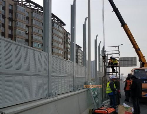 潍坊桥梁隔音屏障-- 科亚潍坊声屏障生产厂家