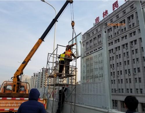 邢台立交桥吸音屏障-- 科亚邢台声屏障生产厂家