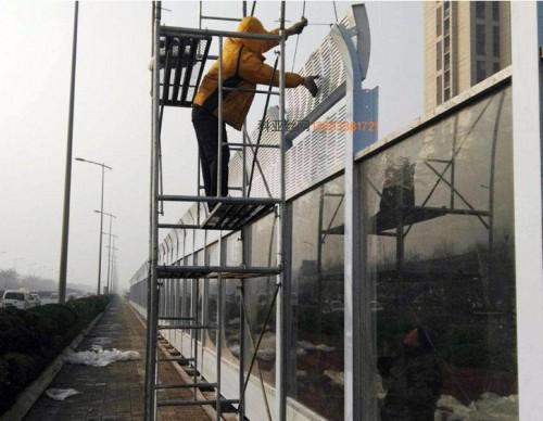 吉林立交桥隔声屏障-- 科亚吉林声屏障生产厂家