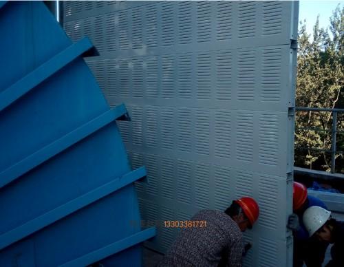 中山建筑隔音冲孔板-- 科亚中山声屏障生产厂家