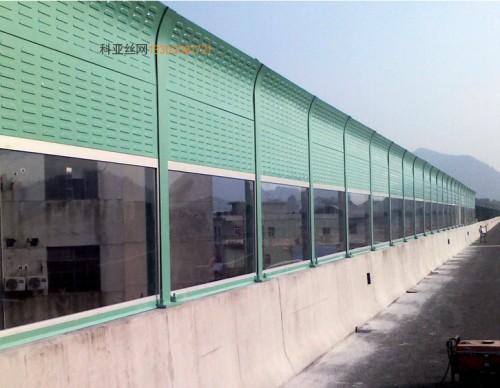 济宁阳光板隔音屏-- 科亚济宁声萄京生产厂家