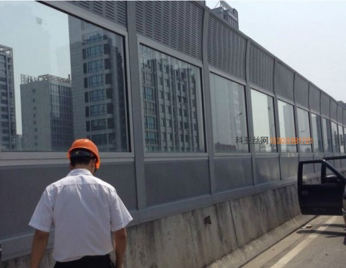 潍坊立交桥隔音冲孔板-- 科亚潍坊声萄京生产厂家