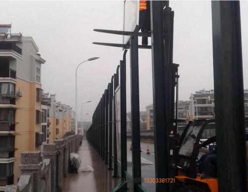 拉萨路基隔音冲孔板-- 科亚拉萨声屏障生产厂家