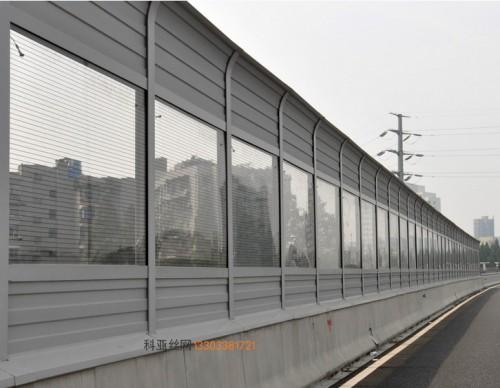 铜川折角隔音屏-- 科亚铜川声屏障生产厂家