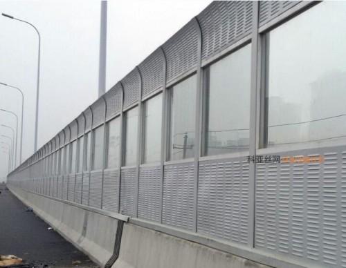 西宁折角吸音墙-- 科亚西宁声屏障生产厂家