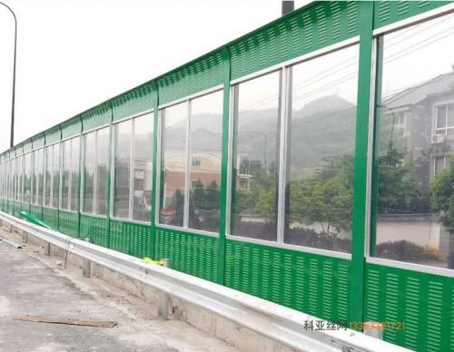 酒泉pc板隔音冲孔板-- 科亚酒泉声屏障生产厂家
