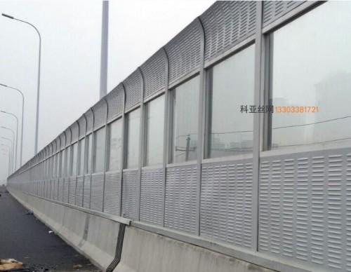 张掖立交桥吸音墙-- 科亚张掖声屏障生产厂家