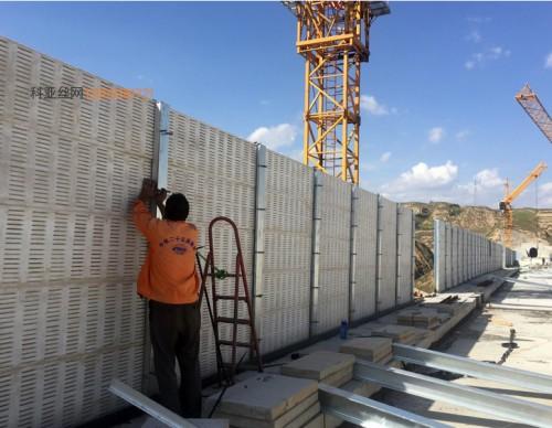 天水化工厂隔音板-- 科亚天水声屏障生产厂家