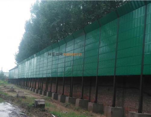 松原工厂隔音墙-- 科亚松原声屏障生产厂家