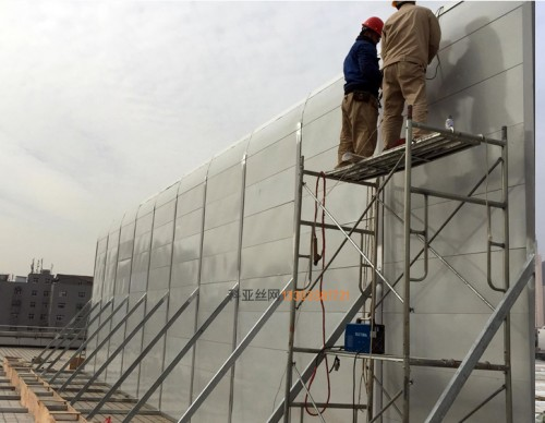 信阳冷却塔消声板-- 科亚信阳声屏障生产厂家