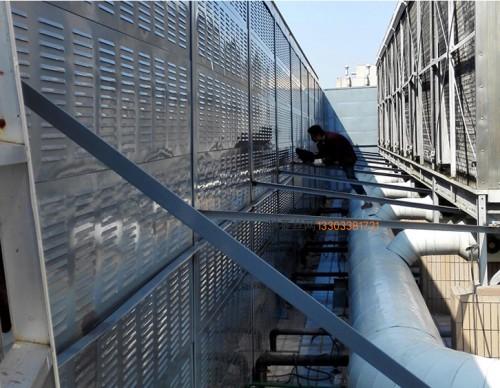 鄂州冷却塔隔声墙-- 科亚鄂州声屏障生产厂家