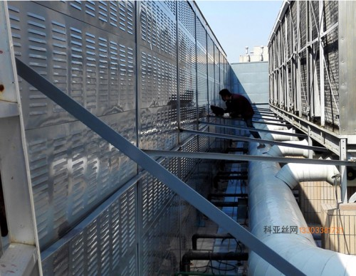 周口冷却塔隔声墙-- 科亚周口声屏障生产厂家