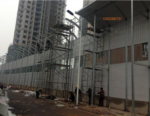 武汉工地隔音屏-- 科亚武汉声屏障生产厂家