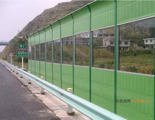 安陽鍍鋅隔音沖孔板-- 科亞安陽聲屏障生產廠家