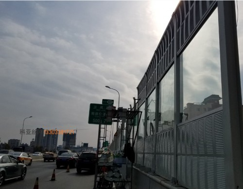 長沙鋁板吸音屏障-- 科亞長沙聲屏障生產廠家