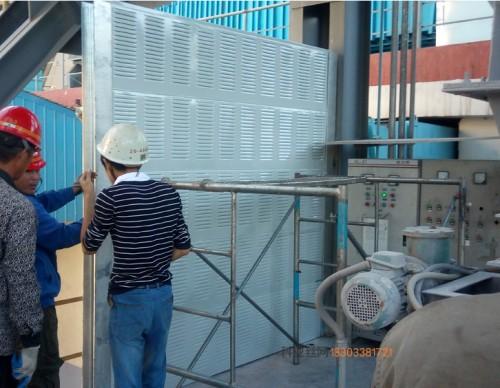清远工厂隔音墙-- 科亚清远声屏障生产厂家