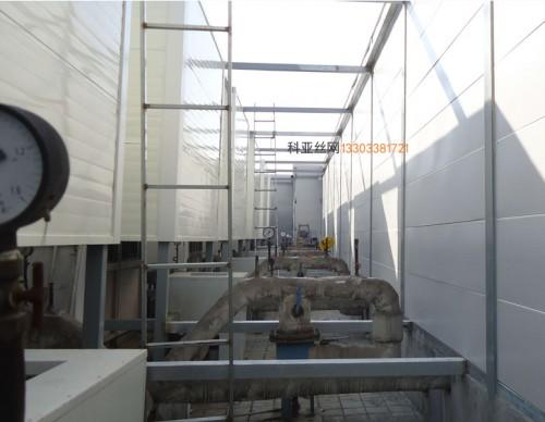 陇南冷却塔隔音冲孔板-- 科亚陇南声屏障生产厂家