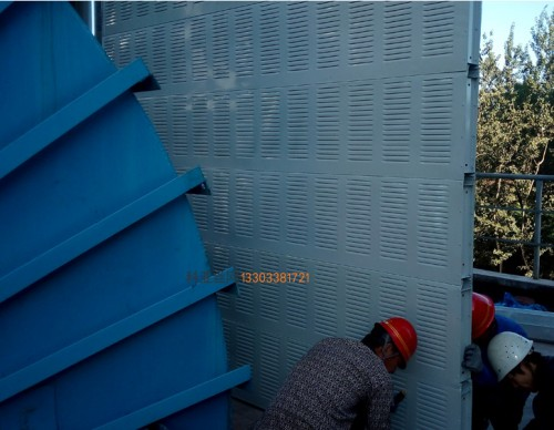 陇南冷却塔隔音材料-- 科亚陇南声屏障生产厂家
