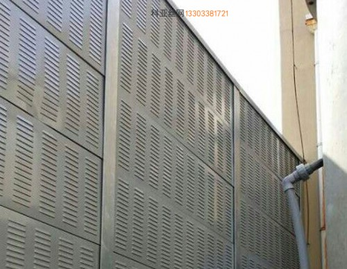 西宁冷却塔隔音冲孔板-- 科亚西宁声屏障生产厂家