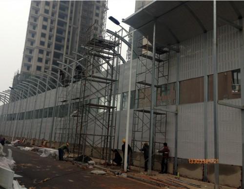 西宁工厂隔音冲孔板-- 科亚西宁声屏障生产厂家