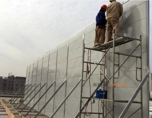 西宁冷却塔隔音材料-- 科亚西宁声屏障生产厂家